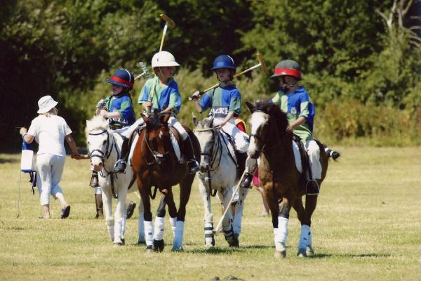 Young polo players.